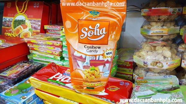 Kẹo hạt điều Soha