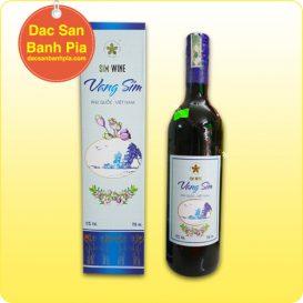 Rượu vang sim đỏ