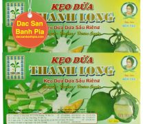 Kẹo dừa dứa sầu riêng