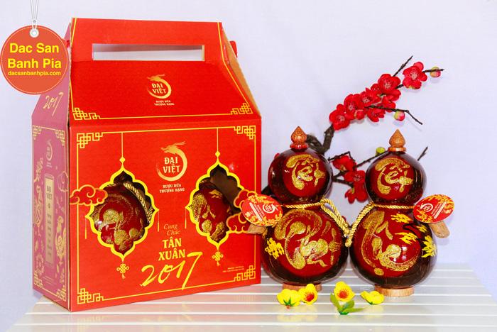 Rượu Dừa Tết Hồ Lô Phước Lộc 470.000 vnđ