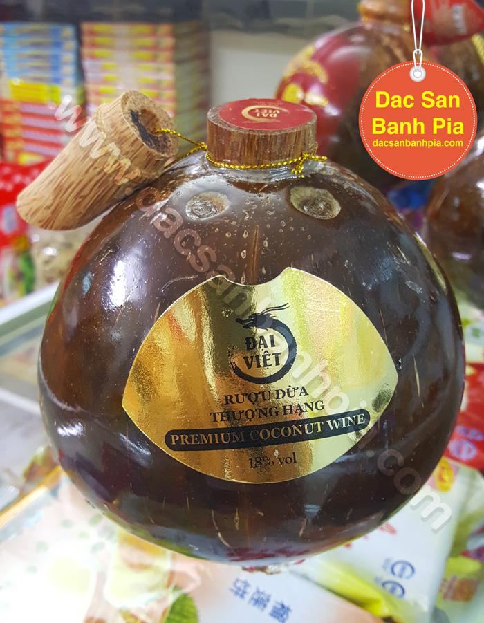 Rượu Dừa Bến Tre truyền thống