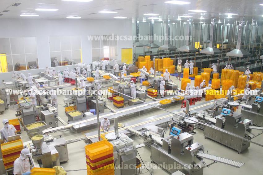 Xưởng chế biến bánh