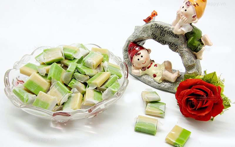 Kẹo dừa Bến Tre thơm ngon đậm đà