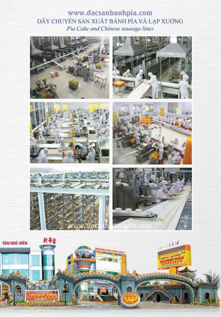 Dây truyền sản xuất bánh pía