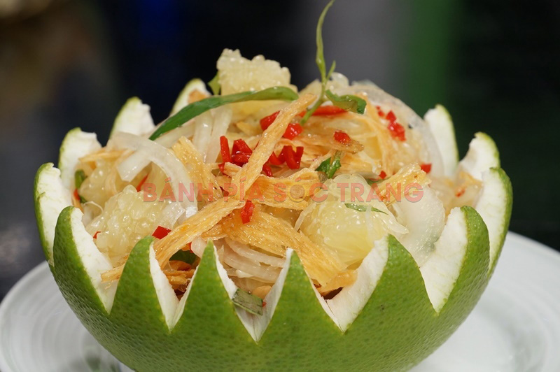 Món ăn hấp dẫn du khách khi đến với Làng bưởi Năm Huệ Đồng Nai