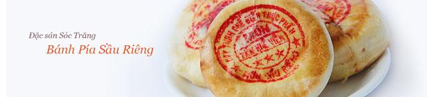 đặc sản bánh pía
