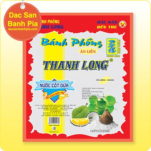 Bánh tráng sữa Thanh Long