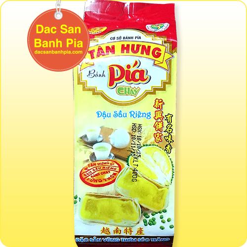 Bánh pía Tân Hưng chay đậu (400g)