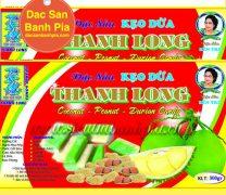 Kẹo dừa đậu phộng sầu riêng lớn