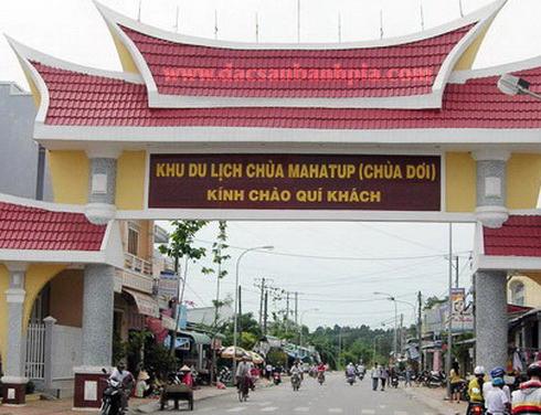 Cổng chào chùa dơi