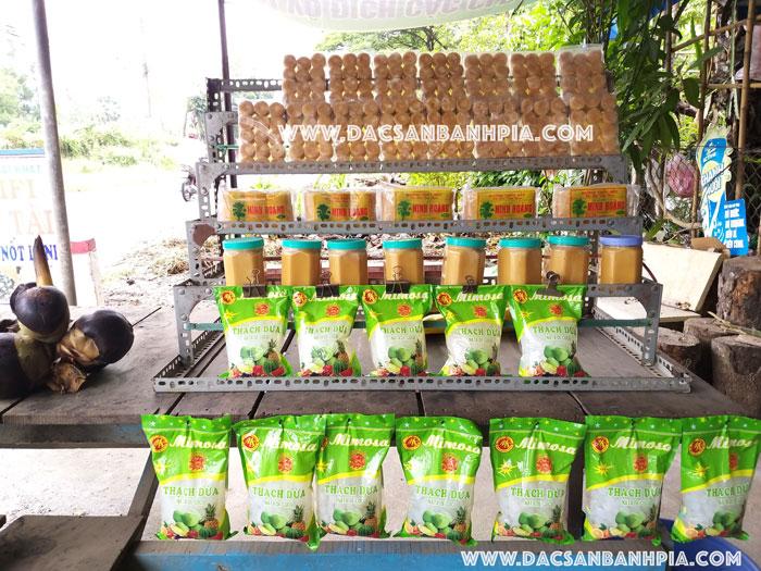 Đường thốt nốt tại Tri Tôn - An Giang