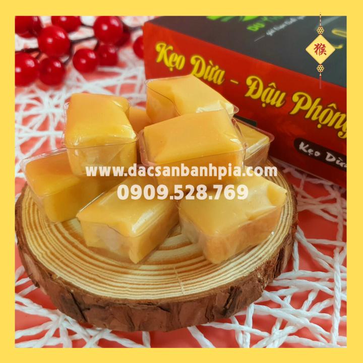Kẹo dừa đậu phộng