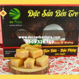 Kẹo dừa đậu phộng Du Thảo ít ngọt