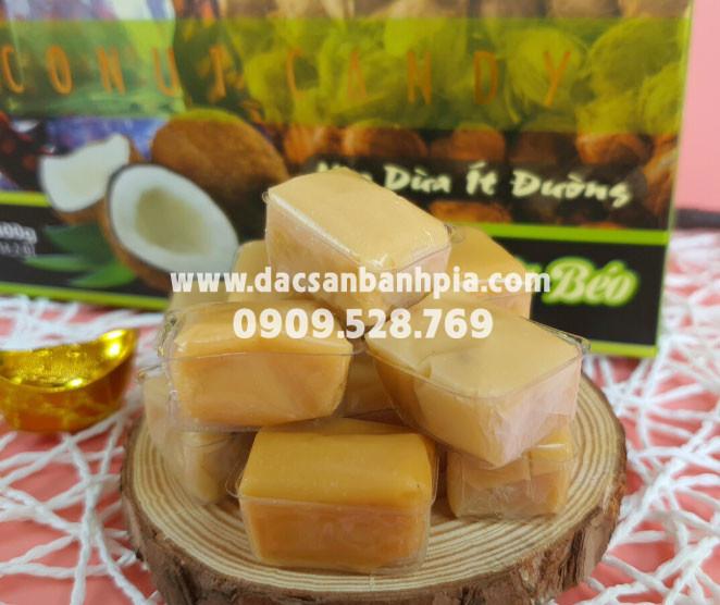 Kẹo dừa nguyên chất không sầu riêng Du Thảo