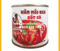 Nấm mối đen sốt cà Phú Quốc – ăn chay