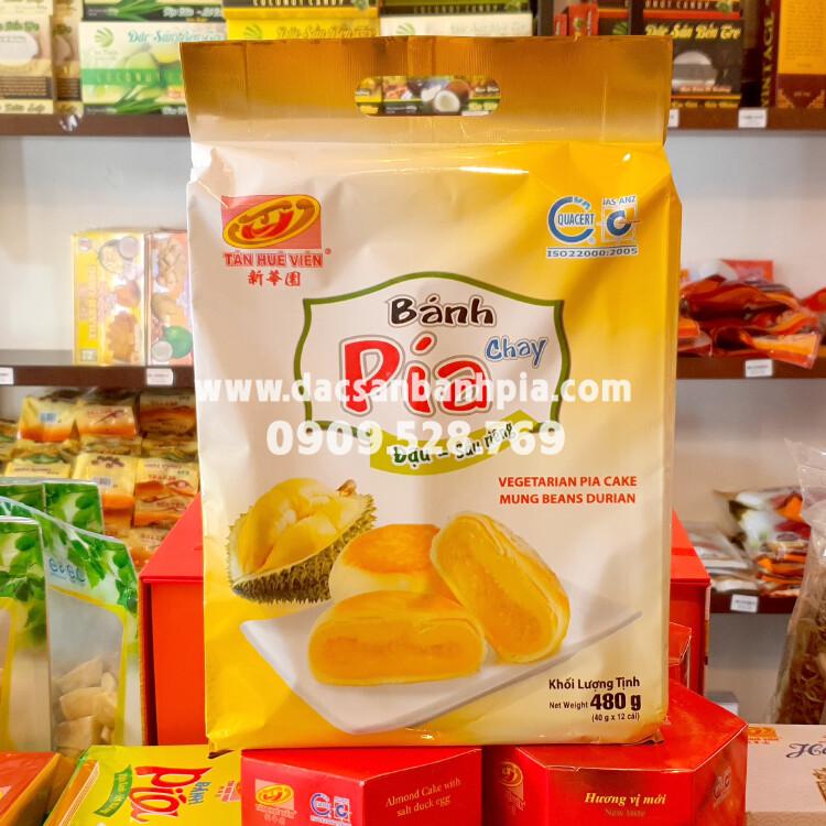 Bánh Pía Kim Sa chay mini túi 500g