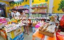 Cửa hàng bánh pía chính hãng gần chợ Bến Thành